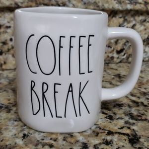 Rae Dunn Artisan Collection Coffee Break Mug